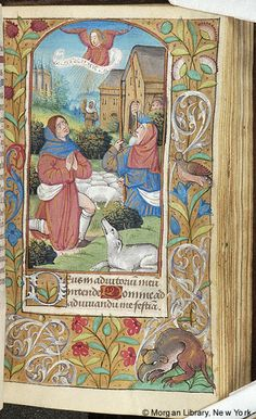 Book of Hours, MS M.144 fol. 40r - Images from Medieval and Renaissance Manuscripts - The Morgan Library & Museum