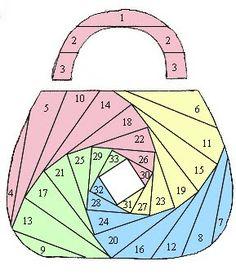 Free Iris Folding Patterns | Айрис фолдинг, красивая техника ...