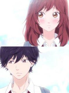 Ao Haru Ride | Blue Spring Ride | Futaba Yushioka x Kou Mabuchi | OTP | Anime | Fanart | Sailormeowmeow