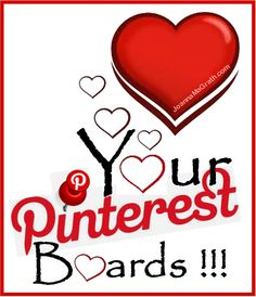 Did I Share How Much I L.O.V.E. Your Pinterest Pin-a-Way Board?... Much Love, Joanna MaGrath http://www.Pinterest.com/JoannaMaGrath http://www.JoannaMaGrath.com