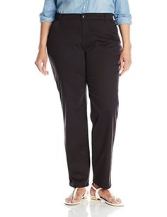 cc9080a8 Lee Womens PlusSize RelaxedFit All Day Pant Black 20W Medium ** Learn more  by visiting