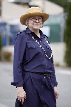 Seattle senior style: Sara Hart in amazing round glasses