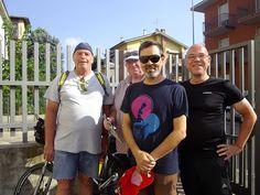 Norbert-Walter e Heiner di Berlino hanno percorso la ciclopista del sole da Insbruck a Verona.   Sono stati ospiti del B La Casa di Paolo e hanno proseguito la ciclopista fino a Venezia.