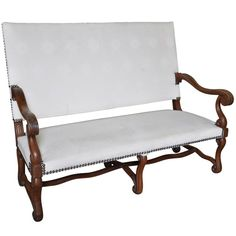 French Late 19th Century Louis XIII Style Sofa