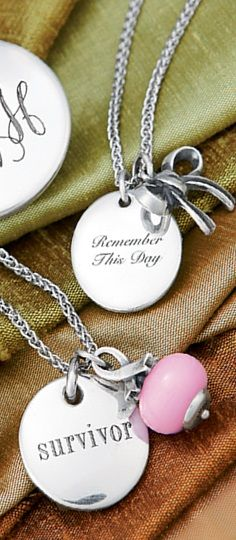 Add a special date, message of love or monogram to personalize your James Avery Jewelry. #JamesAvery