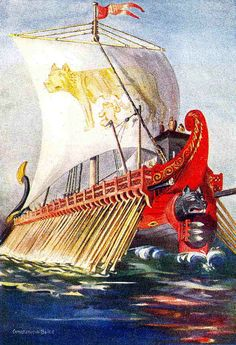 From The Roman Empire To The Atom Bomb - Four Military Technologies Stolen From the Enemy Ancient Rome, Ancient History, Punic Wars, Roman Legion, Ghost Ship, Roman History, Historical Romance, Water Crafts, Roman Empire