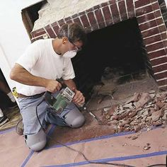 How To Reface A Fireplace Surround And Hearth Fireplace Hearth