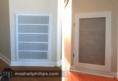 Before and After- pretty air return grill Home Appliances, Home, Air Return, Vented, Inspiration, Return Air Grill