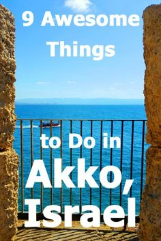 Located along the northern coast of Israel, the Old Port City of Akko (Acre) is an absolute gem. Here are 9 things you really should be doing when visiting Akko. Places To Travel, Travel Destinations, Places To Visit, Travel Pics, Acre Israel, Asia Cruise, Israel Travel, Israel Trip, Israel Tours