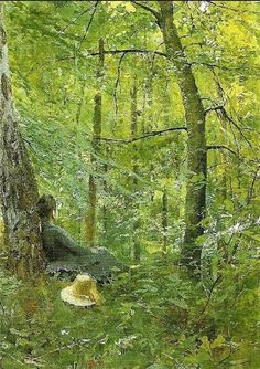 Anders Zorn - Emma in the Barbizon forest