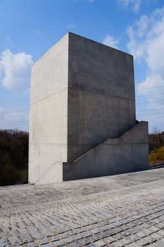 Chikatsu Asuka Historical Museum. 1994. Osaka, Japan. Tadao Ando