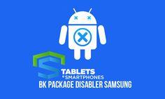BK Package Disabler Samsung v2.2.0 irá te ajudar a desinstalar aplicativos desnecessários do seu dispositivo! Funciona sem a requisição de acesso ROOT!
