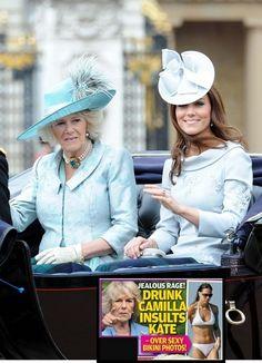 Camilla Parker-Bowles Insults Kate Middleton's Bikini Body Pics