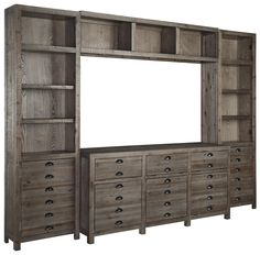 Shop For The Signature Design By Ashley Keeblen Wall Unit At Furniture Barn    Your Pennsville, Bear, Newark, Hockessin, Middletown, New Castle,  Townsend, ...