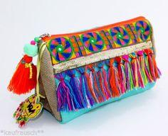 taj-Wood-Scherer-Kosmetiktasche-Clutch-Taeschchen-Tasche-Hippie-Ibiza-Jute-NEU