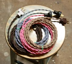 1000 Images About Vintage Style Cloth Covered Electrical