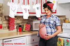 Next baby preggo shoot- pin up style :) I love this allot.must get knocked up LOL Maternity Pin Up, Maternity Poses, Maternity Pictures, Pregnancy Photos, Baby Pictures, Maternity Style, Pinup, Pin Up Photography, Maternity Photography