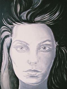 "Yury Ermolenko (Юрий Ермоленко) ""Dizziness"" (""ALICE NEW!"" project) 2005, acrylic on canvas 120x90 cm. #YuryErmolenko #юрийермоленко #ЮрийЕрмоленко #живопись #yuryermolenko #acrylic #picture #painting #art #fineart #contemporaryart #modernart #inspiration #amazing #sexy #wonderland #hot #colorful #texture #RapanStudio #exhibition #psychedelic #metaphysics #cовременноеискусство #mystery #картина #artwork #выставка #alice #fairytale #dream #sensual #fantasy #AliceInWonderland #new #dizziness…"