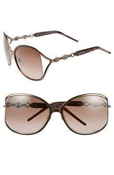 Gucci  Marina Chain  60mm Swarovski Crystal Sunglasses   Nordstrom 5c807d5fe513