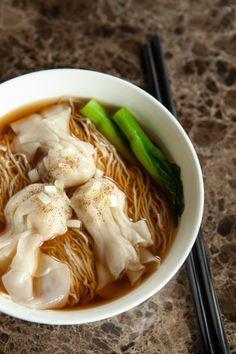Hong Kong style Wonton noodles