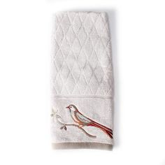 Better Homes and Gardens Song Bird Jacquard Hand Towel
