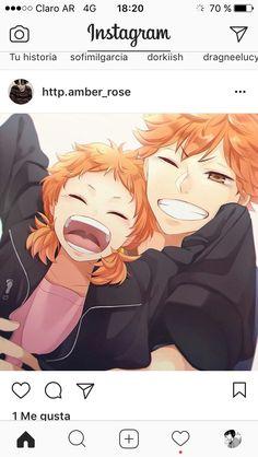 Shoyo and Natsu Hinata