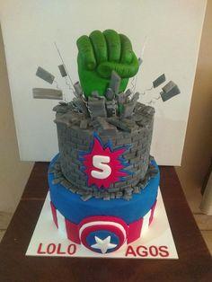 Hulk Cakes, Themed Cakes, Boy Birthday, Cake Decorating, Birthdays, Daily Inspiration, Starwars, Desserts, Food