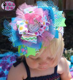 OTT Spring Baby Headband por TrendeeTotts en Etsy, $13.00