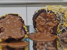Rocambole de Sorvete de Chocolate do Mais Você ♥
