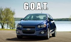 Greatest of all time. #Chevy #Sonic #meme