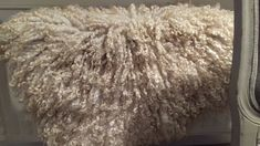 Beautifull handfelted leather free fleece of Lincoln Longwool Lincoln, Shag Rug, Rugs, Leather, Free, Home Decor, Shaggy Rug, Farmhouse Rugs, Decoration Home