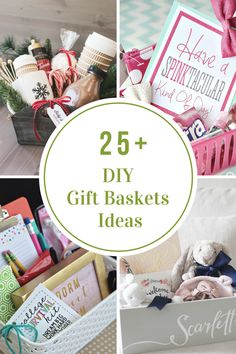 Gift Ideas| DIY Gift Basket Ideas for all Holidays and Occastions