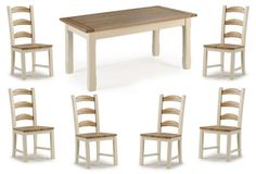 Camden Painted Pine & Ash Kitchen Dining Table - 150cm - Dining Tables - Kitchen & Dining