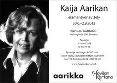 Kaija Aarikka elämäntyönäyttely.