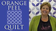Missouri Star Baby Quilt with Flange Binding: Easy Quilting Tutorial with Jenny Doan - YouTube