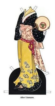 Immortal Geisha Forums • View topic - Paper dolls and coloring books [IMG HVY}