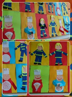 povolání Easy Crafts For Kids, Art For Kids, Community Helpers Crafts, Community Workers, Bunt, Preschool, Game, Children, Artwork