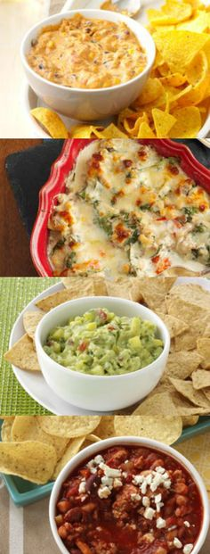 25 Favorite Dip Recipes for a Crowd from Taste of Home including: Corn Chip Chili Cheese Dip, Reuben Dip, Buffalo-Style Chicken Chili Dip and more!