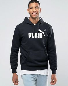 Puma | Puma Logo Hoodie In Black 83187001