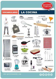 léxico cocina