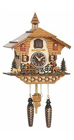 Quartz Cuckoo Clock Black forest house with music, moving... https://www.amazon.com/dp/B00VZQ5X3C/ref=cm_sw_r_pi_dp_x_2NsnzbZ198JRE