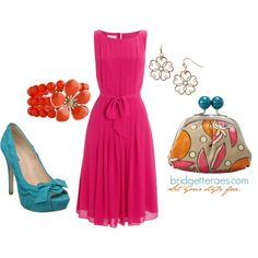 Color Block Party, created by bridgetteraes on Polyvore
