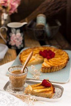 La mejor tarta de manzana y crema pastelera del mundo