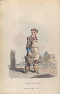 Waterman to a coach-stand, 1814