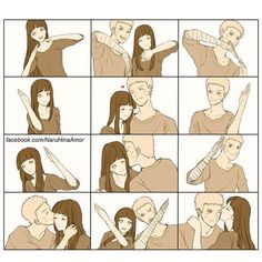 #naruhinaislove It actually took me a while to figure out this was a heart. I thought they were doing dance moves. Lol! XP