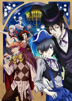 Black Butler 3: Book of Circus ~~ I'll be watching it here: http://kissanime.com/G/173538?l=http%3a%2f%2fkissanime.com%2fAnime%2fKuroshitsuji-Book-of-Circus if at all possible!