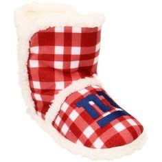 New York Giants Women's Flannel Sherpa Boot Slippers New York Giants Football, Nfl T Shirts, Nfl Gear, Nhl Jerseys, Slipper Boots, New England Patriots, Slippers, Womens Flannel, Sports Apparel