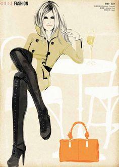 Ilustración de Sandra Suy.