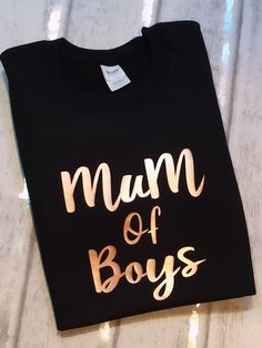 A personal favourite from my Etsy shop https://www.etsy.com/uk/listing/594511719/mum-of-boys-mum-sweater-mummy-jumper