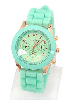 Mint & Gold Watch at www.shoparielsworld.com
